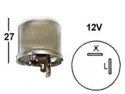VILKKURELE 12V  -  2-napaa, kuumalanka  -  X - L