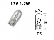 12V lasikanta polttimo 1,2W