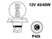 Polttimo, Hehkulanka 12V 45/40W P45t