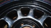 "Vanne Gragar Black Daytona 15 x 7 /  5 x 4,5"" ET0 CB 3,30 *Poisto* *4kpl sarja* (Katso lisätiedot)"
