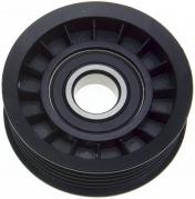 Hihnapyörä 6-uraa  Mitat: Ø 70mm, leveys 25mm, keskireikä 17mm