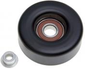 Hihnapyörä sileä Mitat: Ø 90mm, leveys 30mm, keskireikä 17mm