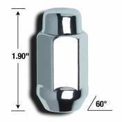 "Mutteri 1/2""  x 48mm *19mm kanta*"