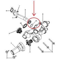 Termostaattikotelon o-rengas *4884873AA*