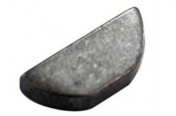 Kampiakselin kiila vakio lyhyt pituus 18,6mm, leveys 4,8mm, korkeus 7,6mm