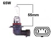 HB3 12V halogen polttimo - 9005 - 65W - P20D