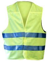 Heijastinliivi, Keltainen, CE-hyväksytty