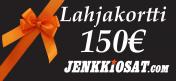 Lahjakortti, 150 euroa