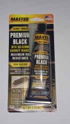Master Black Plus Gasket Maker, Hi-Temp Silicone tiivisteaine (95g)