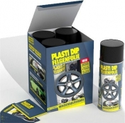 Plasti Dip Spray Vannesetti 4x400ml Musta