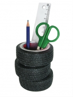 Genuine Hotrod Hardware® Tire Stack Pen Holder