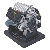 1:6 Scale Dodge Challenger SRT8 Hemi Engine